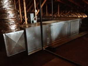 Commercial HVAC Interior Progress