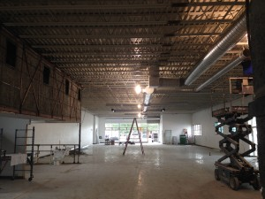 Updating Retail Space Duct Work