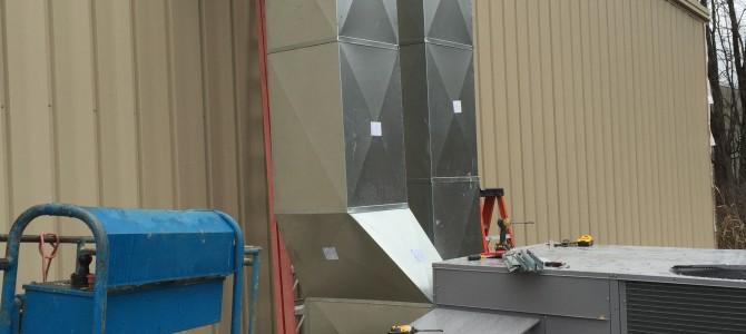 Commercial HVAC Installation at Family Dollar , Medina, NY