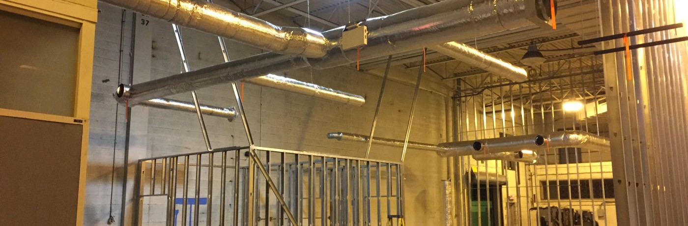 Commercial HVAC Installation at Custom Courier in Rochester