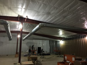 Retail - Commercial HVAC Duct Installation. Ramily Dollar Medina progress view 2.