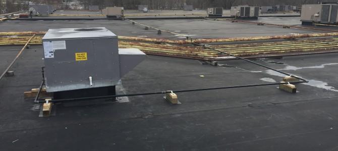 Commercial HVAC Upgrades for Peebles Dept Store, Johnstown NY