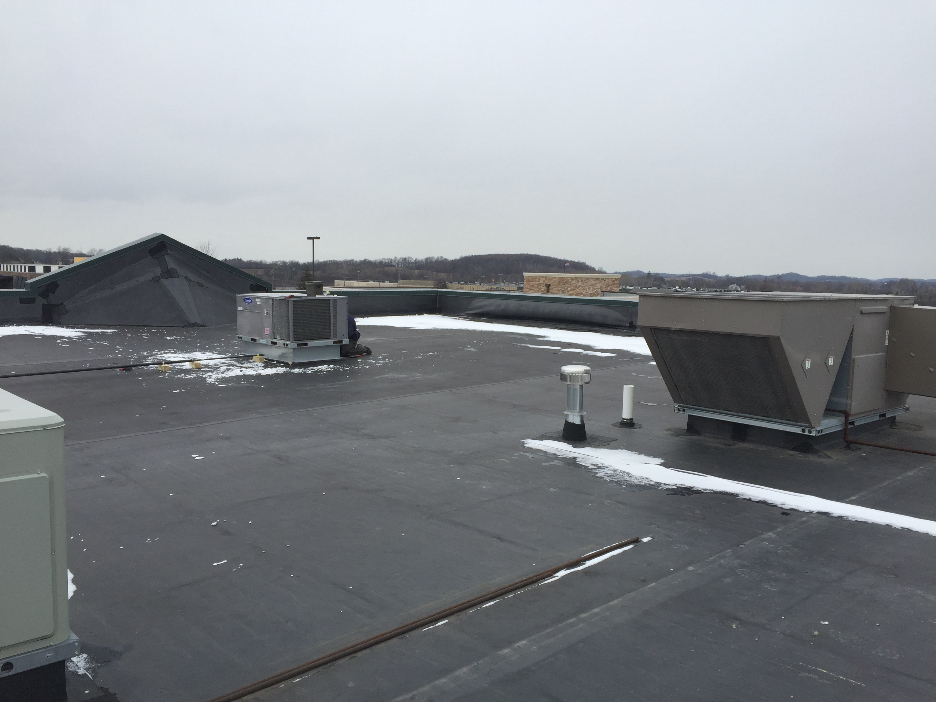 Carrier Rtu Installation Commercial Direct Hvac Services
